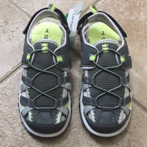 Carter's Boys Closed Toe Athletic Play Sandals